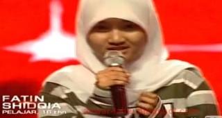 """Fatin Shidqia Lubis Peserta X Factor yang Cute dan """"WAW"""""""