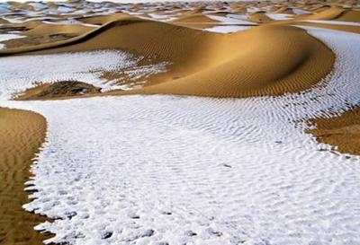 Iklim Salju di Tanah Arab